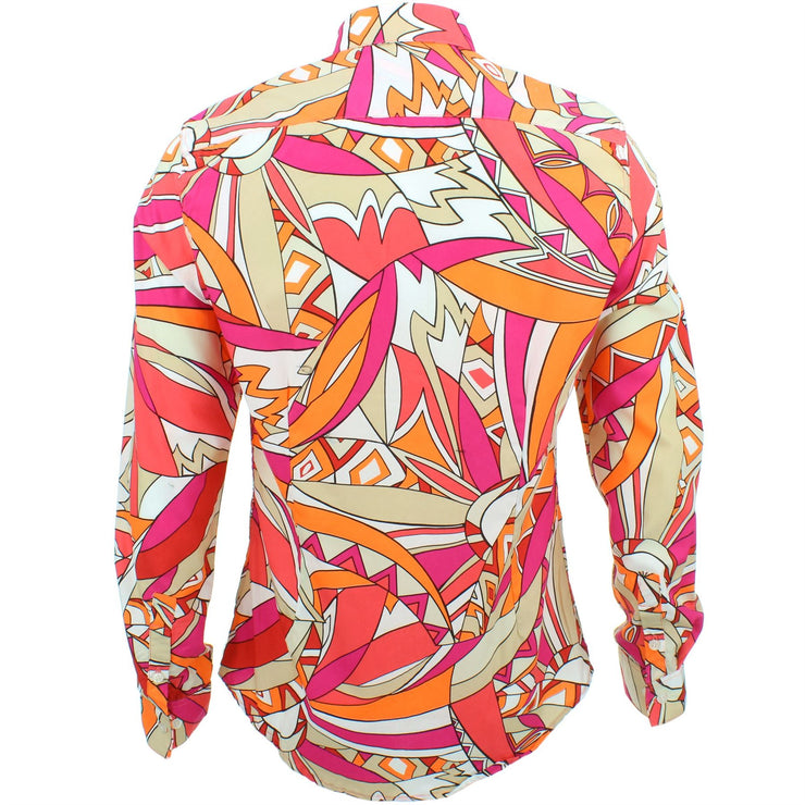Slim Fit Long Sleeve Shirt - Capri Island