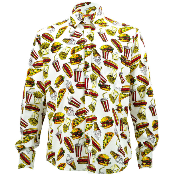 Regular Fit Long Sleeve Shirt - The Diner