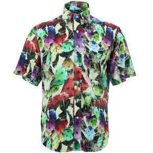 Regular Fit Short Sleeve Shirt - Cactus