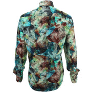 Regular Fit Long Sleeve Shirt - Oil Painting
