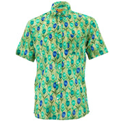 Regular Fit Short Sleeve Shirt - Tulips