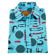 Regular Fit Short Sleeve Shirt - The BBQ King