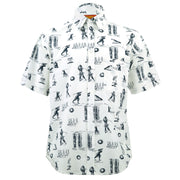 Regular Fit Short Sleeve Shirt - The Golfer