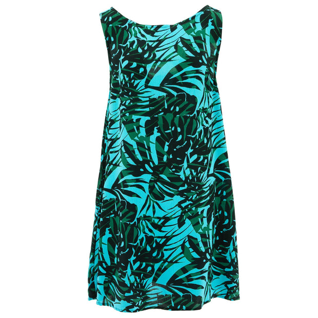 Shift Shaper Dress - Tropical Turquoise