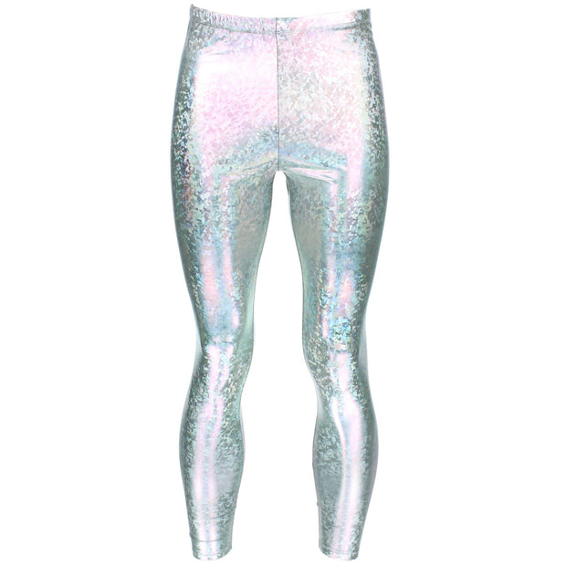 Shiny Meggings - Silver