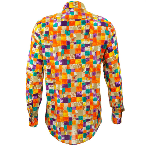 Regular Fit Long Sleeve Shirt - Paint