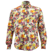Regular Fit Long Sleeve Shirt - Sunset Roses