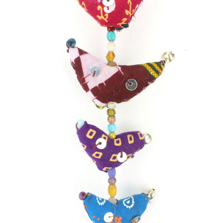 Handmade Rajasthani Strings Hanging Decorations - Small Chickens