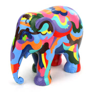 Limited Edition Replica Elephant - Yin Yang