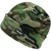 Kids Camo Fleece Hat
