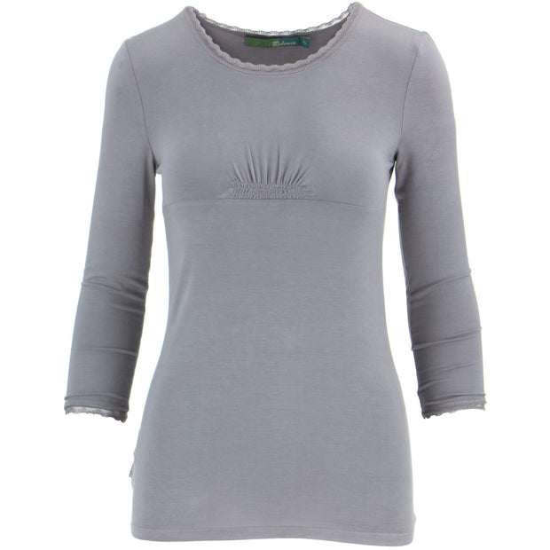 3/4 Sleeve Top - Lavender