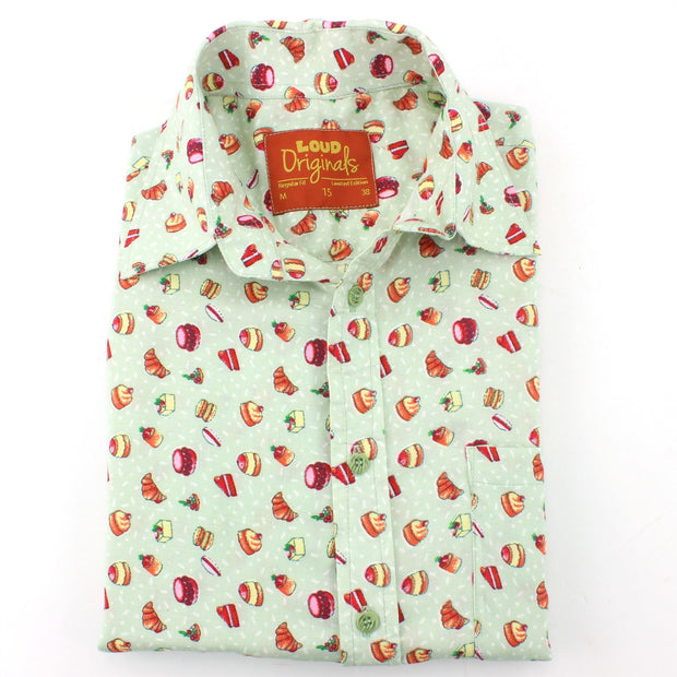 Slim Fit Short Sleeve Shirt - Afternoon Tea
