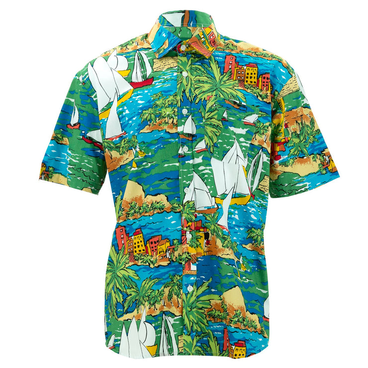 Regular Fit Short Sleeve Shirt - Set Sail