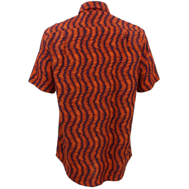 Regular Fit Short Sleeve Shirt - Chevron Elipse