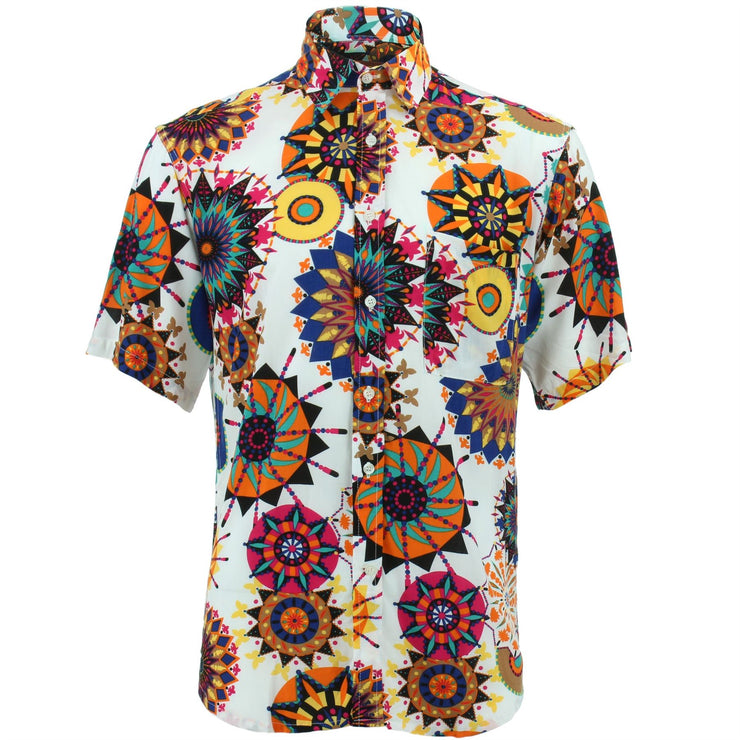 Regular Fit Short Sleeve Shirt - Carnival Suzani