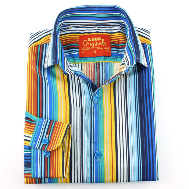 Tailored Fit Long Sleeve Shirt - Classic Deck Chair