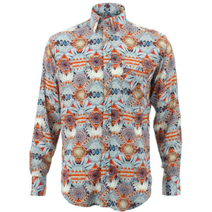 Regular Fit Long Sleeve Shirt - Bohemian