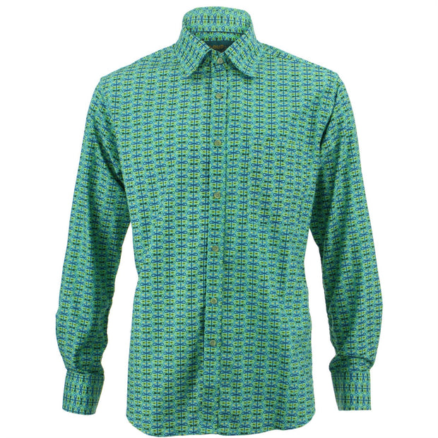 Regular Fit Long Sleeve Shirt - Cross-Eyed