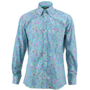 Regular Fit Long Sleeve Shirt - Spirals