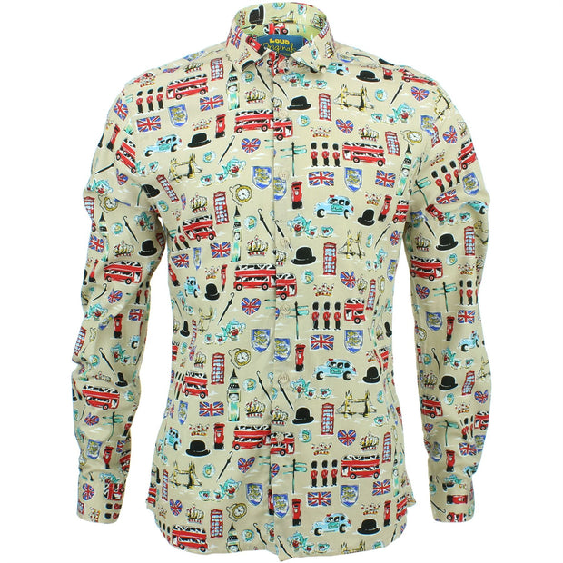 Slim Fit Long Sleeve Shirt - London
