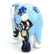 Limited Edition Replica Elephant - Patchie Indigo