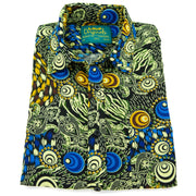 Regular Fit Short Sleeve Shirt - Psychedelic Swirl