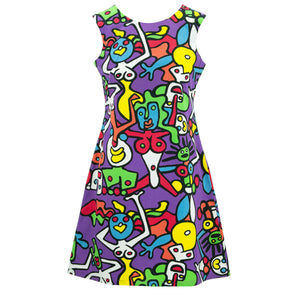 Nifty Shifty Dress - Tiffy Purple