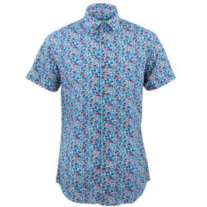 Tailored Fit Short Sleeve Shirt - Ditzy Floral