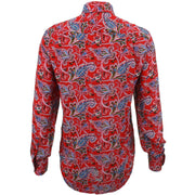 Regular Fit Long Sleeve Shirt - Paisley