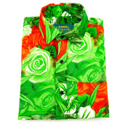 Regular Fit Long Sleeve Shirt - Roses