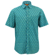 Regular Fit Short Sleeve Shirt - Kiwi Fruit
