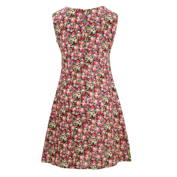 Nifty Shifty Dress - Retro Roses