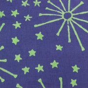 Regular Fit Long Sleeve Shirt - Blue with Green Stars & Fireworks