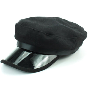 Ribbon Captain's Breton Cap - Black