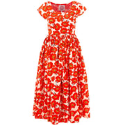 Tea Dress - Orange Blossom