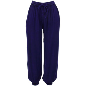 Harem Trousers - Purple