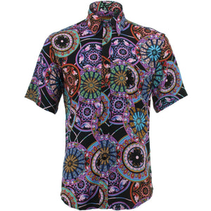 Regular Fit Short Sleeve Shirt - Suzani