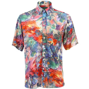 Regular Fit Short Sleeve Shirt - Volcano