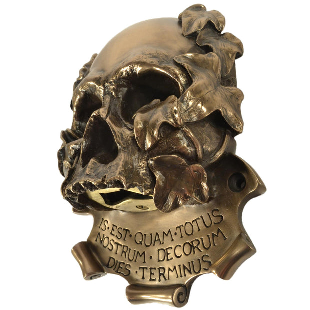 Wall Mounted Character Bottle Opener - Momento Mori (Bronze)