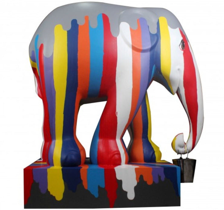 Limited Edition Replica Elephant - Ms. Songkran