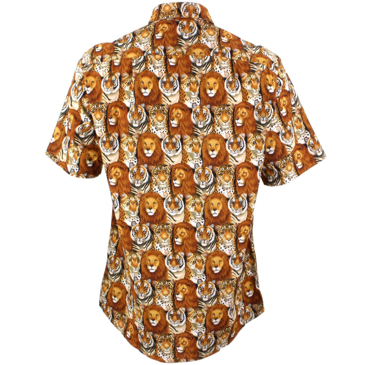 Regular Fit Short Sleeve Shirt - Big Cats