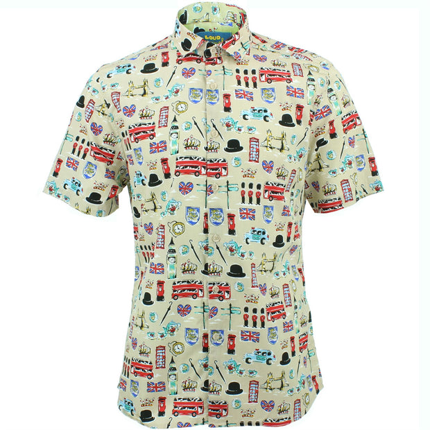 Slim Fit Short Sleeve Shirt - London