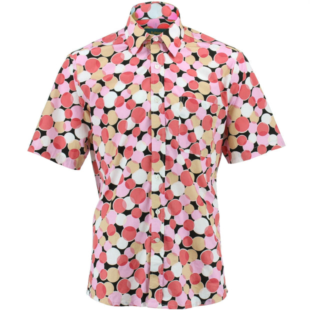 Regular Fit Short Sleeve Shirt - Venn Circles
