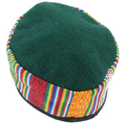 Nepalese Wool Smoking Hat - Green