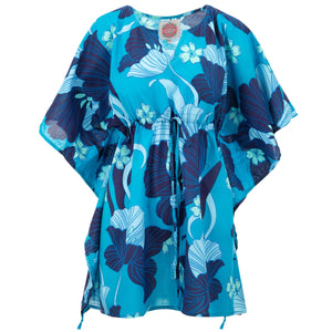 Beach Kaftan Cover-Up - Blue Dream
