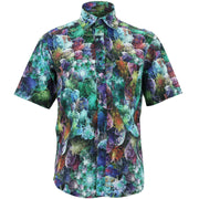 Regular Fit Short Sleeve Shirt - Into the Abstractverse