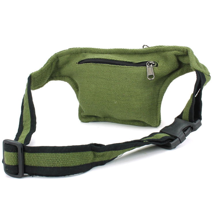 Canvas Bumbag - Green