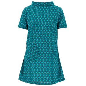 Sixties Shift Dress - Turquoise Terra