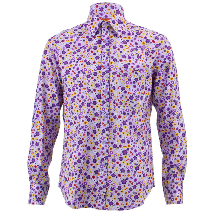 Regular Fit Long Sleeve Shirt - Ditzy Floral