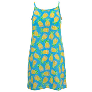 Strappy Dress - Pineapples